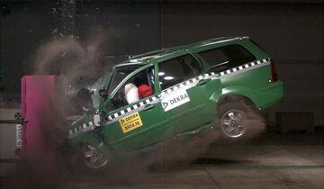 Unfall Crashtest Dekra 2014