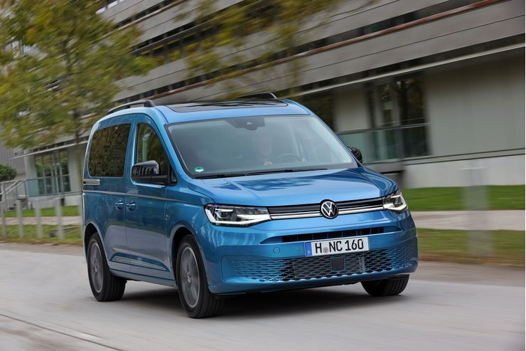VW Caddy Kombi 2021
