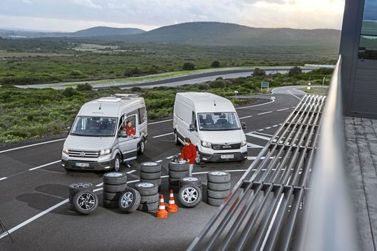 VW Crafter, MAN TGE