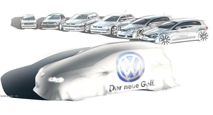 VW Golf, Modelle im Überblick