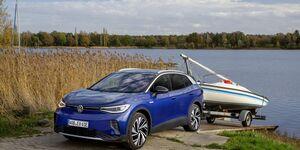 VW ID.4 2021, E-Auto, Anhänger