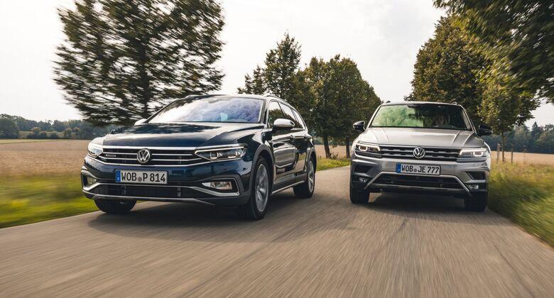 VW Tiguan2019 und VW Passat 2019