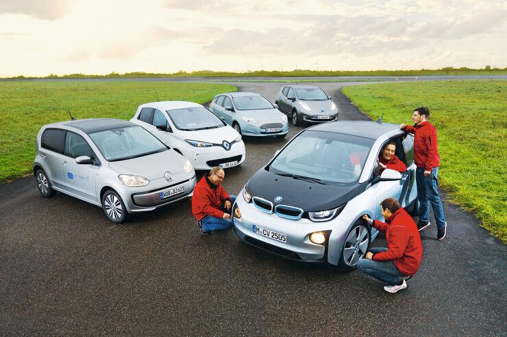Vergleichstest Elektroautos