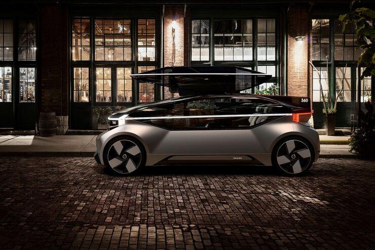 Volvo Konzeptstudie 360c 2018