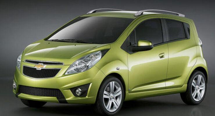 Weltpremiere für den Chevrolet Spark