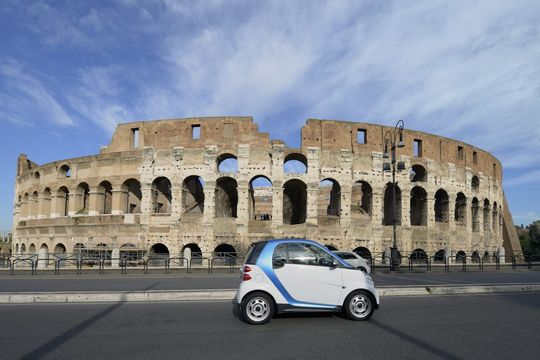 car2go, Rom, moovel