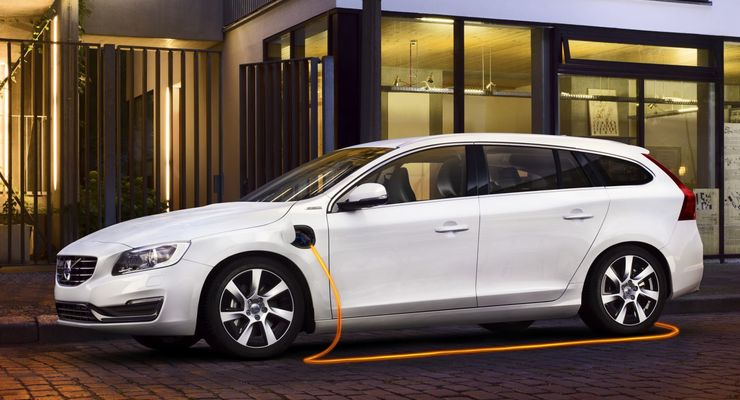 Fahrbericht: Volvo V60 Plug-in-Hybrid: Diesel unter Strom - firmenauto