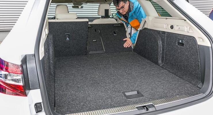 top 20: kombis mit größtem kofferraumvolumen - firmenauto