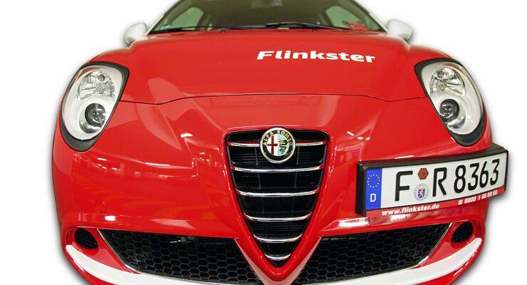 roter Alfa Romeo, Flinkster