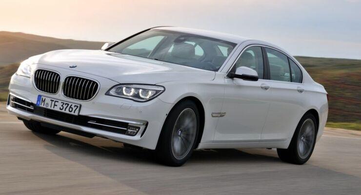 weißer BMW
